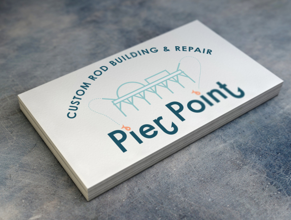 Business card mock-up for Pier Point