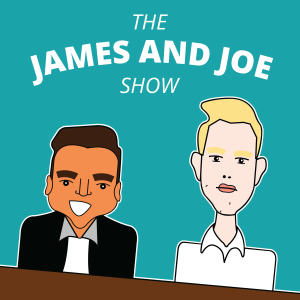 James and Joe Show Logo to be used for app store icon